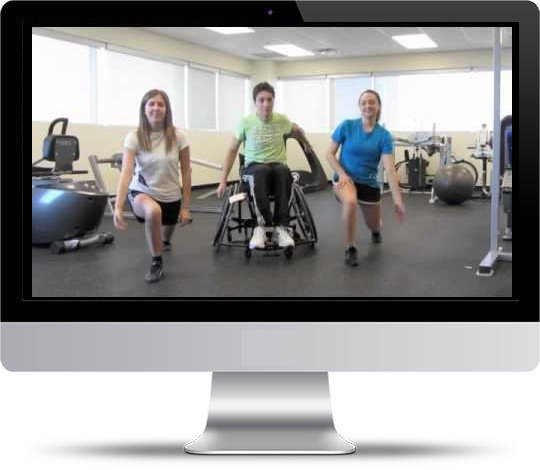 Exercise Video for People with Intellectual and Physical Disabilities